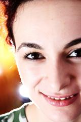 Beautiful face of woman!