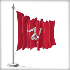 Flag of Isle of Man