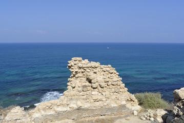 Apollonia ancient ruins near Tel Aviv.