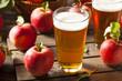 Leinwanddruck Bild - Hard Apple Cider Ale