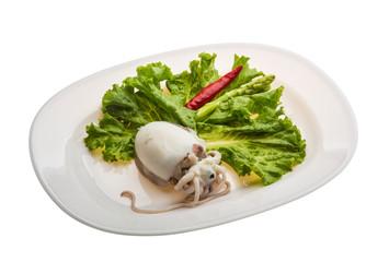 Boiled cuttlefish