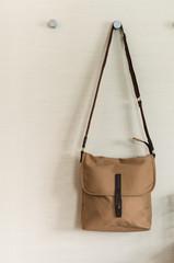 fashion brown shoulder bag