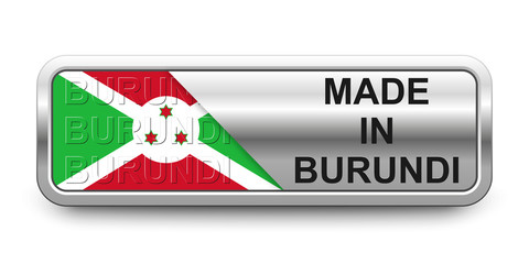 Made in Burundi Button