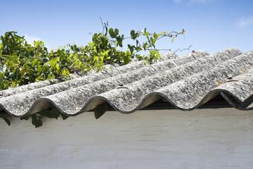 Dahgferous toxic asbestos roof