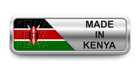 Made in Kenya Button