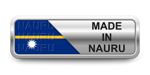 Made in Nauru Button