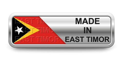 Made in East Timor Button