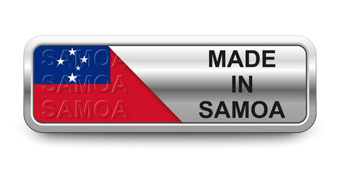 Made in Samoa Button