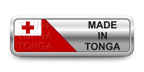 Made in Tonga Button