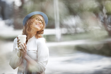 Coffee and happiness.