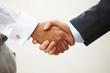 Closeup of a business handshake - 70270531