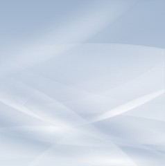 Abstract light blue smooth flow background