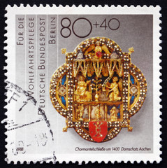 Postage stamp Germany 1988 Cope Clasp