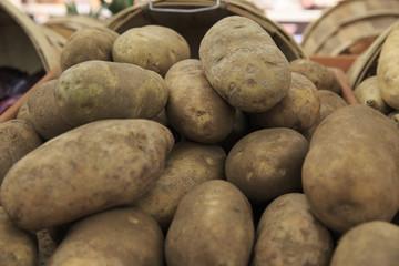 Potatoes in the bazaar