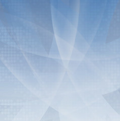 Abstract light blue smooth flow background for tech