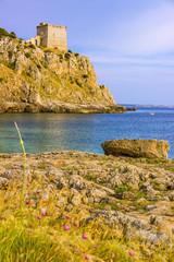 Costa Salentina: baia di Porto Selvaggio(Lecce).ITALIA (Puglia)