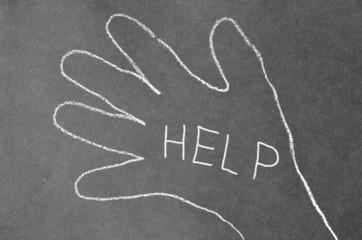 Hilfe - Ausgestreckte Hand