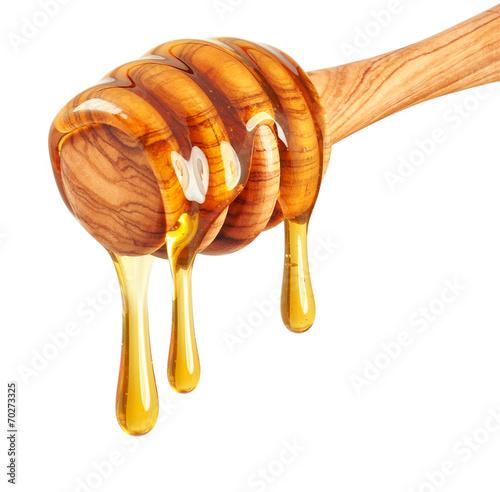 Fotobehang Planten Honey dripping