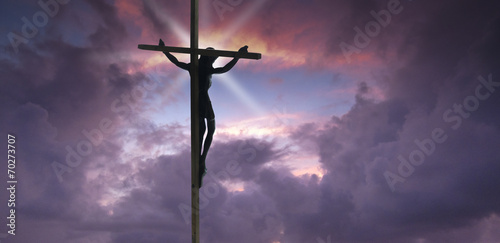 Jesus Christ on the Cross - 70273707