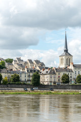 Church of Saint Pierre in Saumur, Maine-et-Loire department (Fra