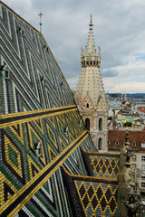 St. Stephen's Cathedral roof, Vienna