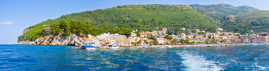 Panorama of Petrovac