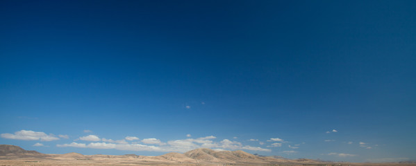 Fuerteventura, blue skies