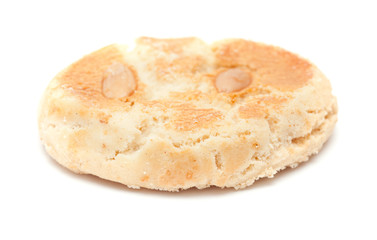 traditional canarian soft biscuits of butter and almonds,