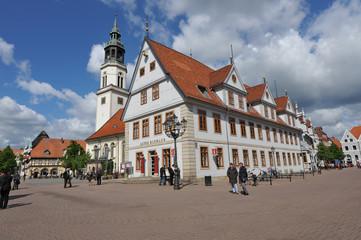 Altes Rathaus, Stadtkirche, Stechbahn, Niedersachsen, Celle