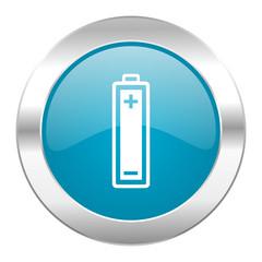 battery internet blue icon