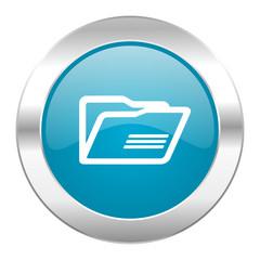 folder internet blue icon