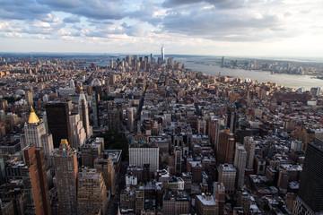 Aussicht auf New York