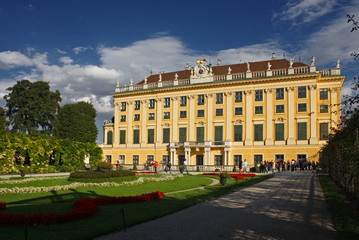 PALAZZO DI SCHONBRUNN A VIENNA