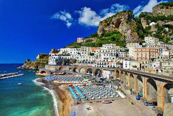 Italian holidays - breathtaken  Amalfi coast, Atrani village