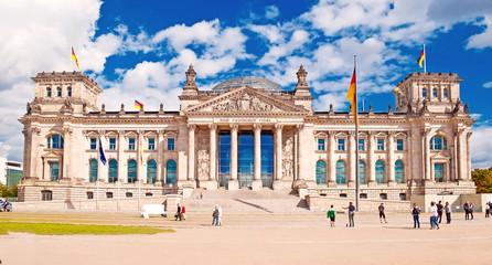 Deutscher Bundestag im Berliner Reichstag