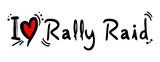 Rally raid poster