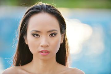 Ritratto di ragazza vietnamita
