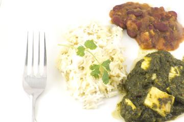 Sag Paneer - authentic Indian food