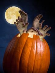 Zombi pumpkin