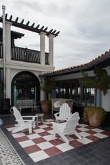 Terrasse typique
