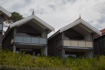 Villas, style maison de pêcheur