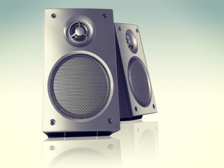 Desktop Stereo Loudspeakers Pair