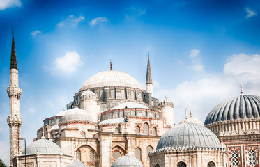 beautiful mosque in Istanbul