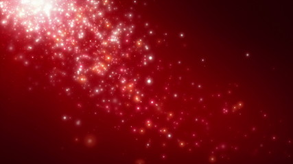 Particles Of Light Red