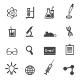 science and laboratory icons
