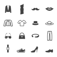 fashion and accessory icons