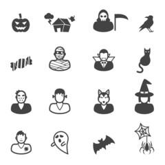 happy halloween icons