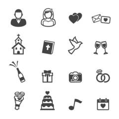 wedding ceremony icons