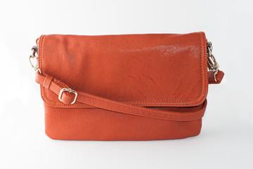 летняя оранжевая сумка