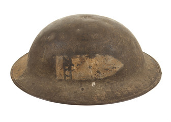 A World War One U.S. Army Doughboy Helmet